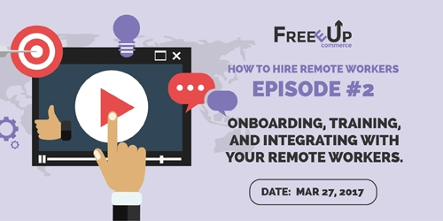 Episode 3 Onboarding, Training, Integrating with your Team
