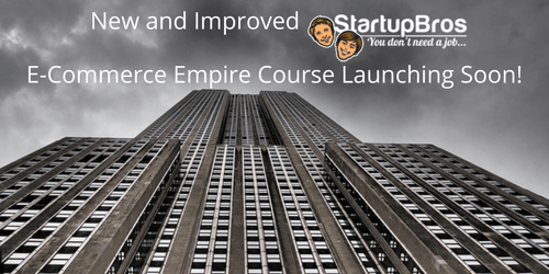 StartupBros E-Commerce Empire