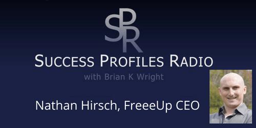 Nathan Hirsch, FreeeUp CEO