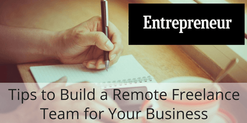 Remote Freelance Team