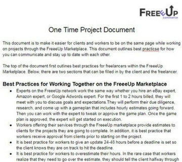 one time project doc 360x320