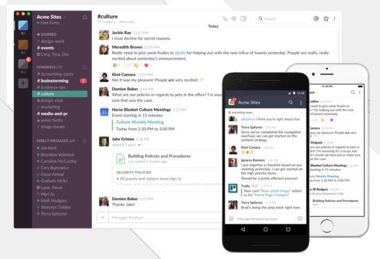 Manage Workers Remotely Slack
