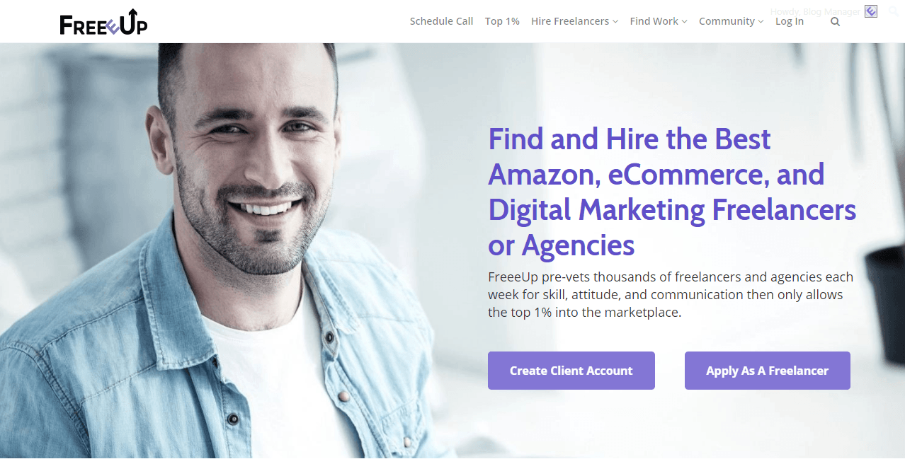 FreeeUp Freelance Platform