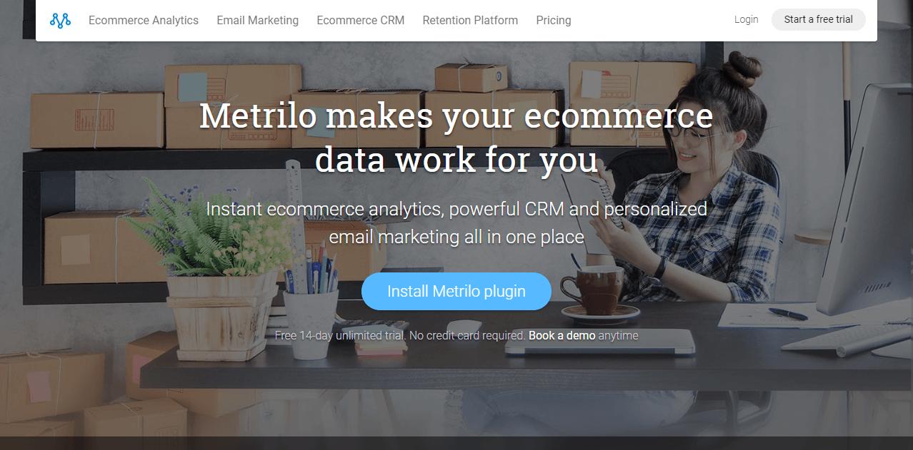 Metrilo ecommerce tools