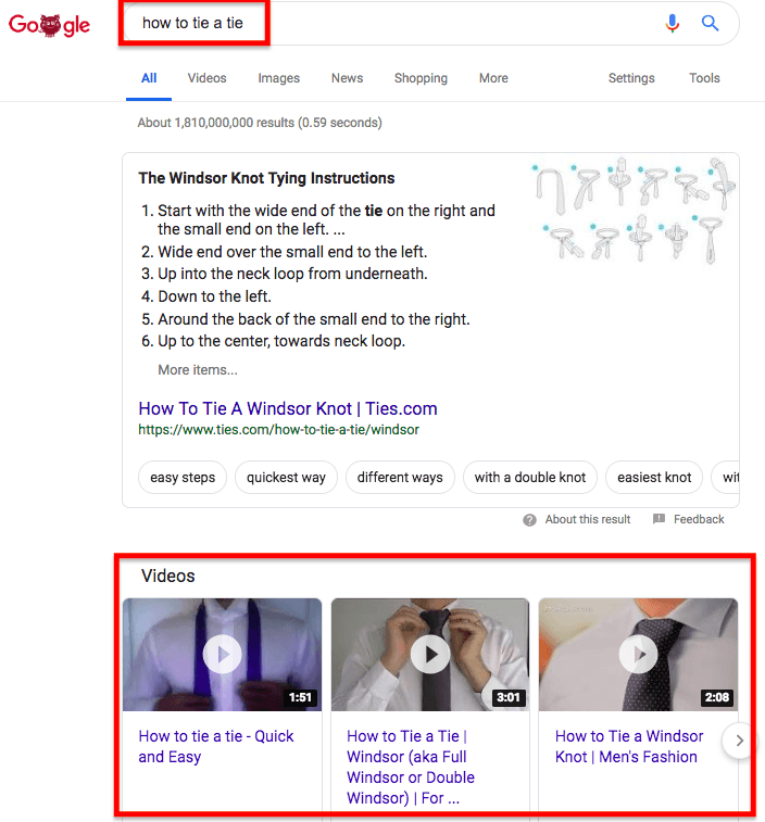 YouTube SEO Google rankings