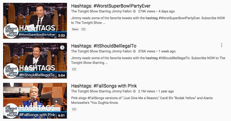 YouTube SEO thumbnail hashtags
