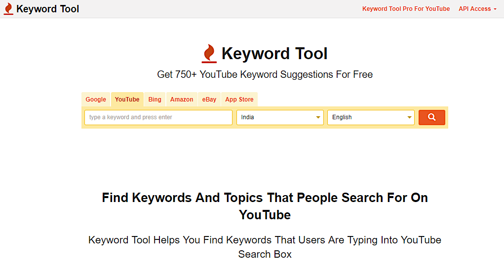 YouTube SEO keyword tools