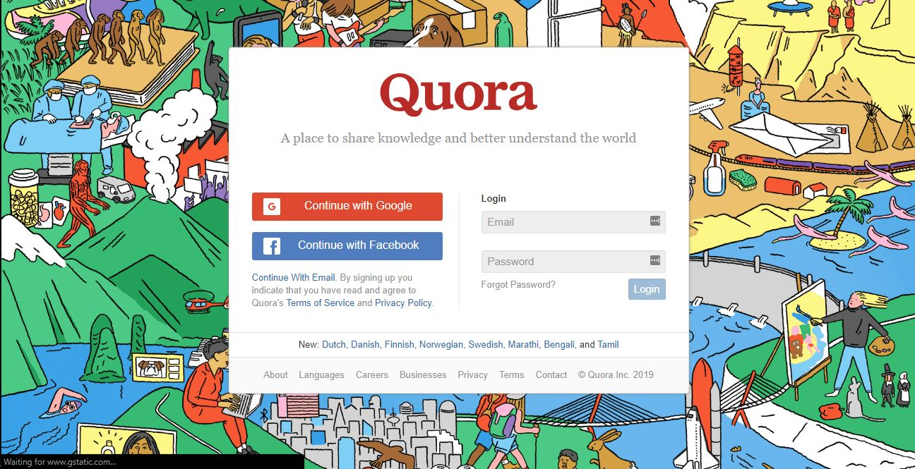 quora marketing virtual assistant