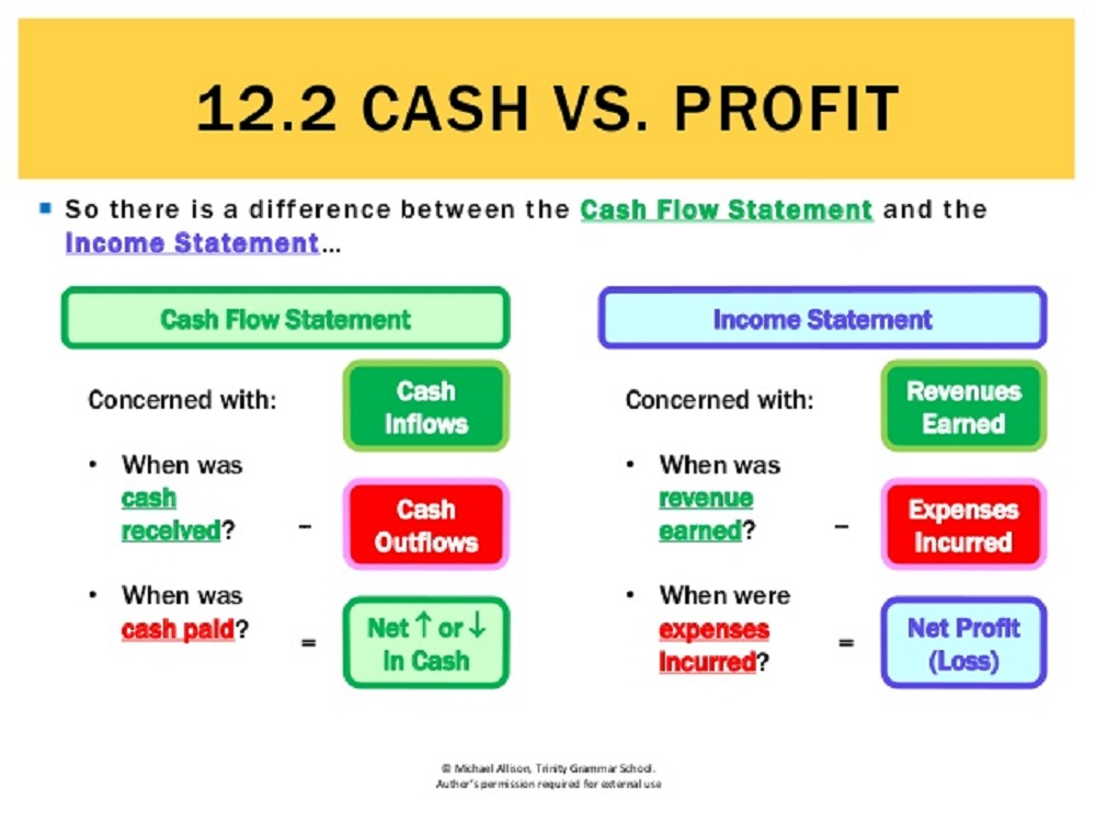 cash vs profit