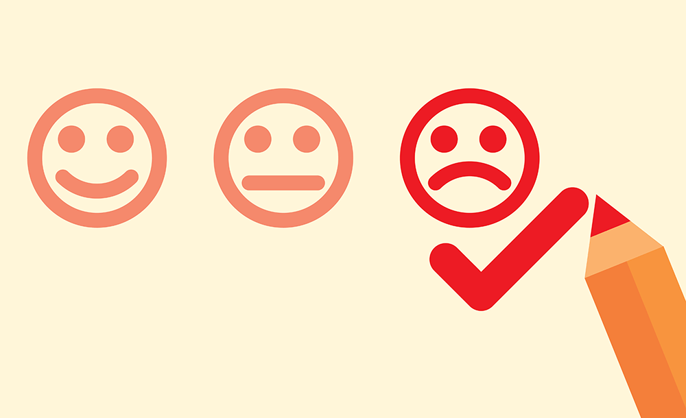 The Value of Negative Feedback