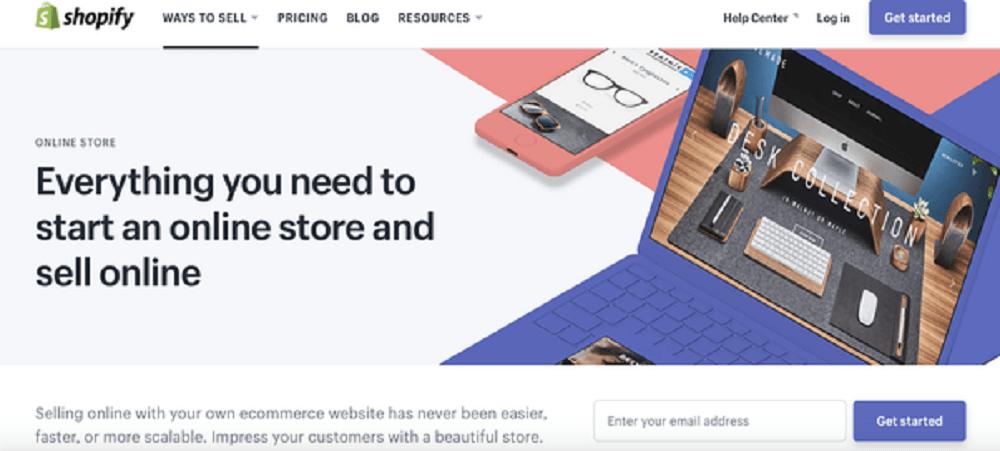 Shopify online