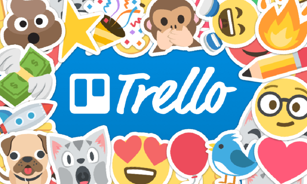 trello images and stickers