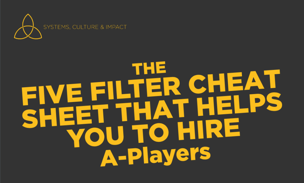 hire a-players filters