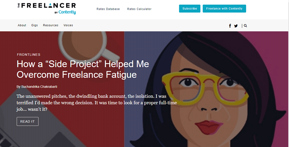 Freelancer by Contently