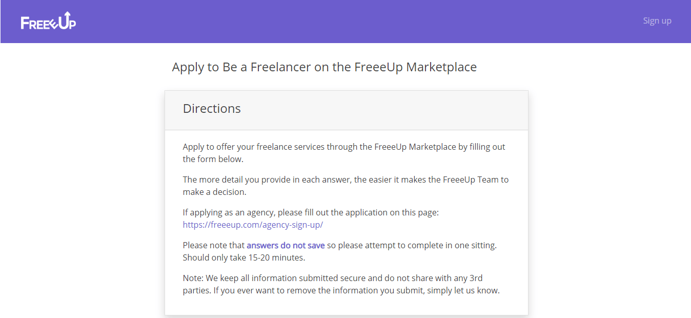 build freelance business