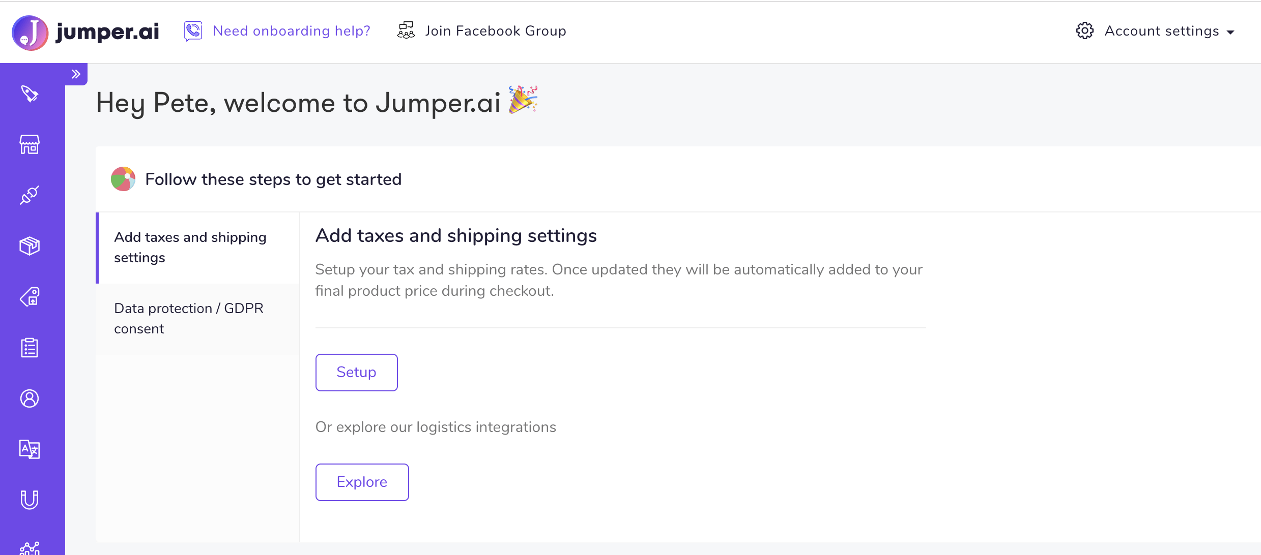 jumper influencer marketing dashboard