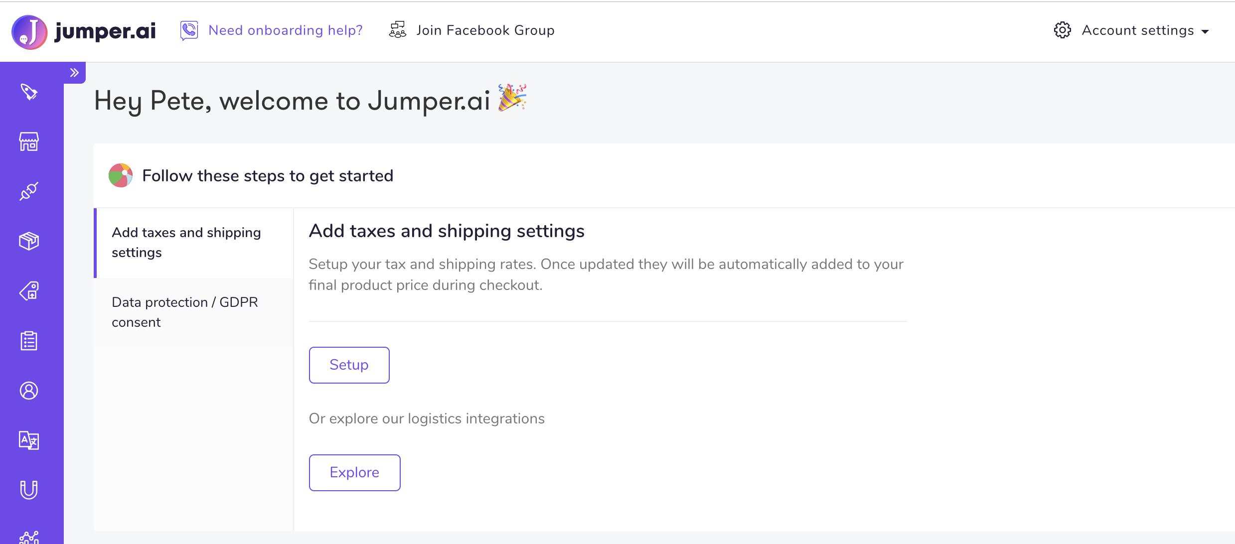 jumper influencer marketing dashboard