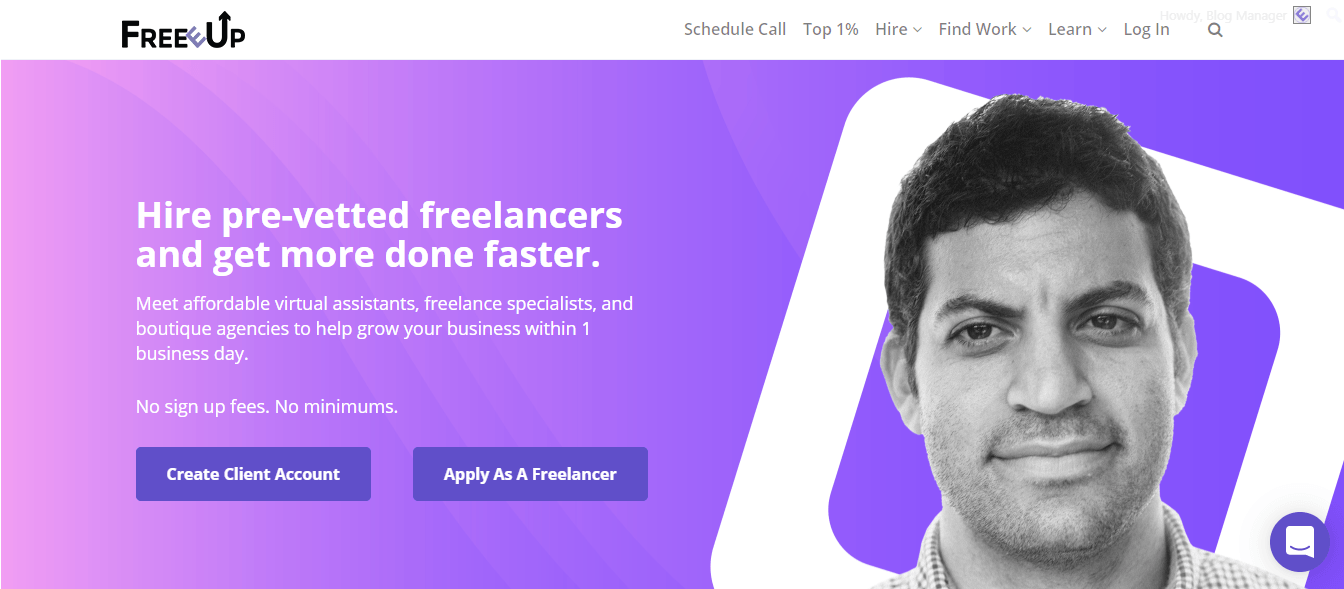 freeeup freelancer tips