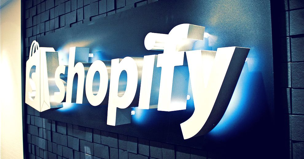 shopify sign