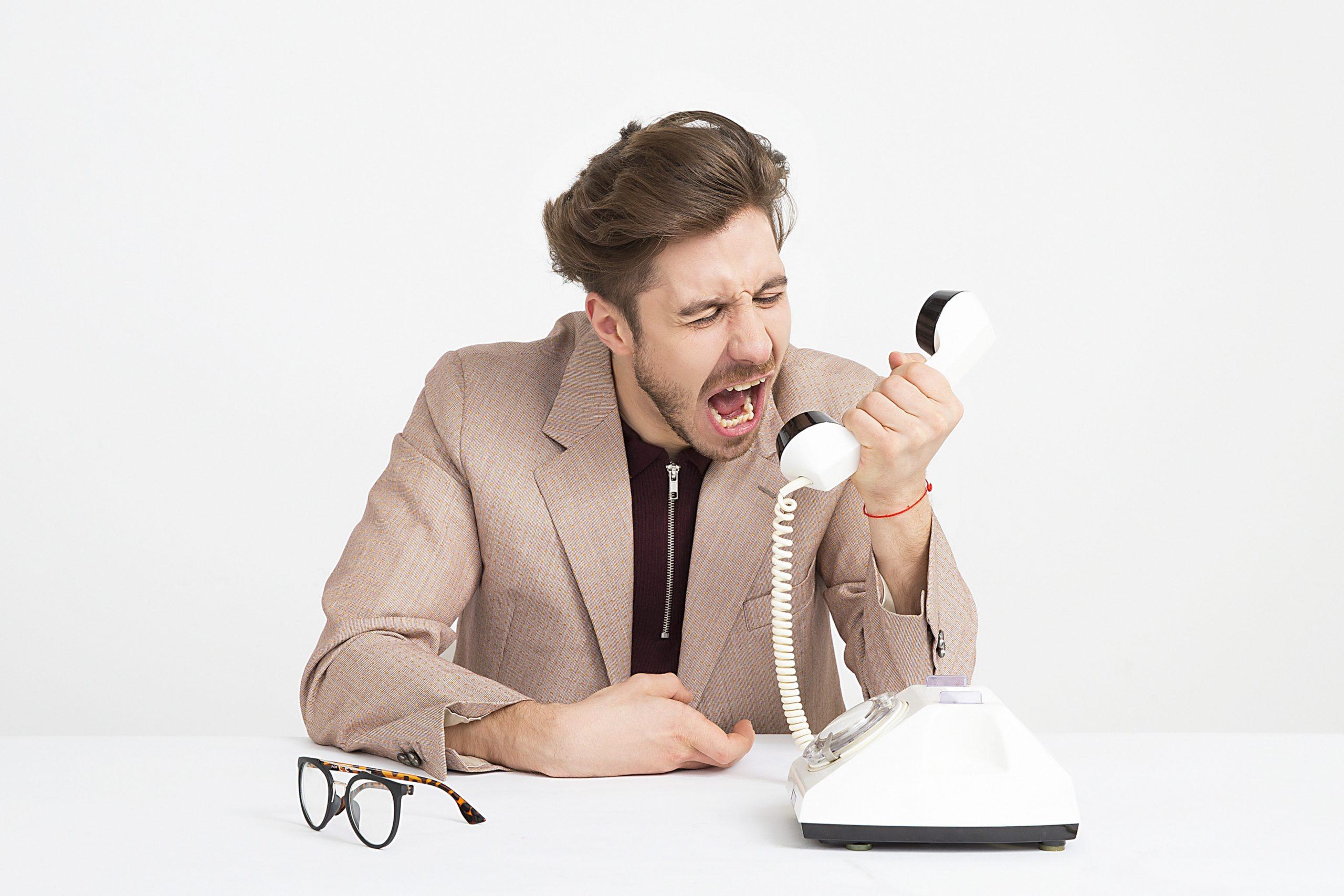 frustrating calls