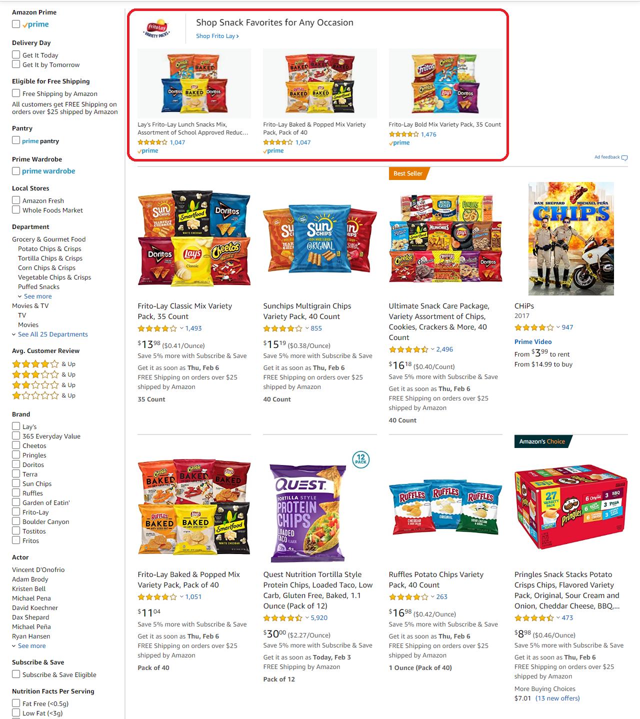 Amazon Advertising Sponsored Brands