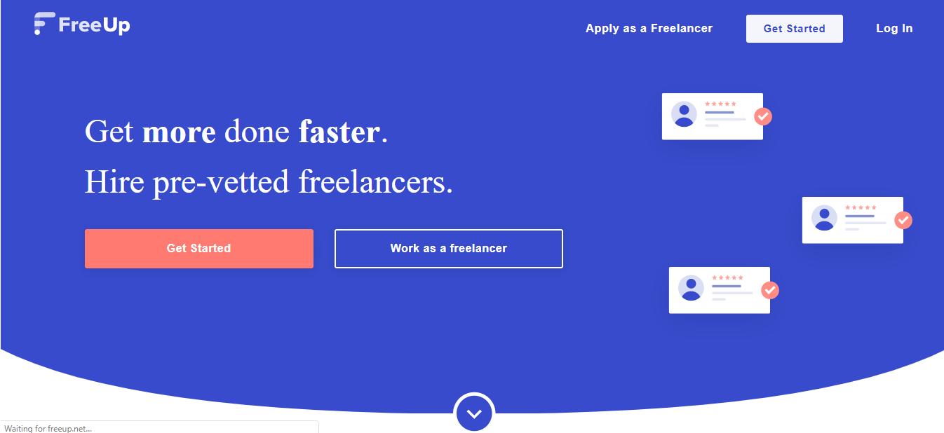 freeup website