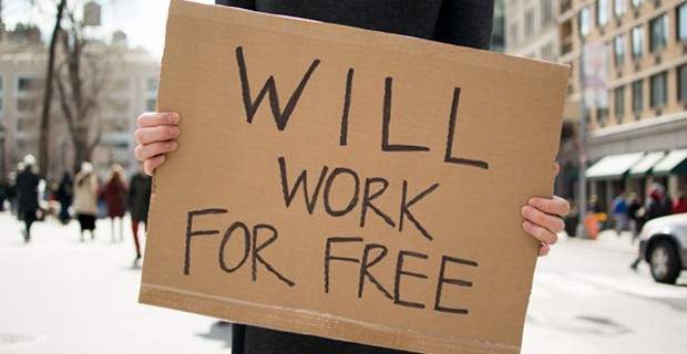 working for free is a freelancer mistake