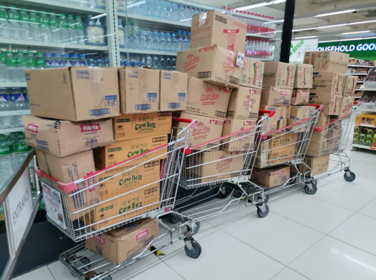 Goods to distribute