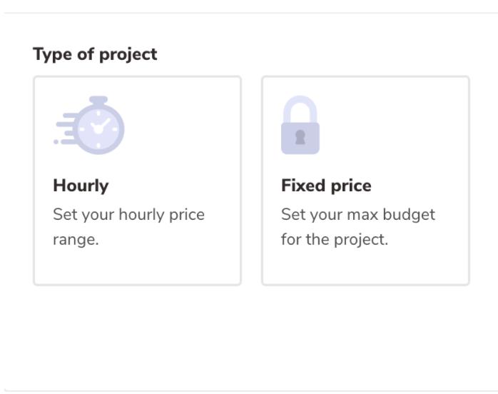 Freelancer budget on FreeUp
